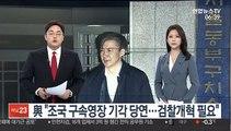 """與 """"조국 구속영장 기각 당연…검찰개혁 필요"""""""