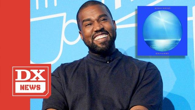 """Kanye West Celebrates Christmas With """"Jesus Is Born"""" Album"""