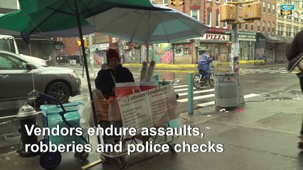 The struggle of women street food vendors in New York City