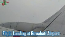 Flight Landing at Guwahati International Airport I Flight Landing I Sky View during Flight Landing I Guwahati Airport [HD]