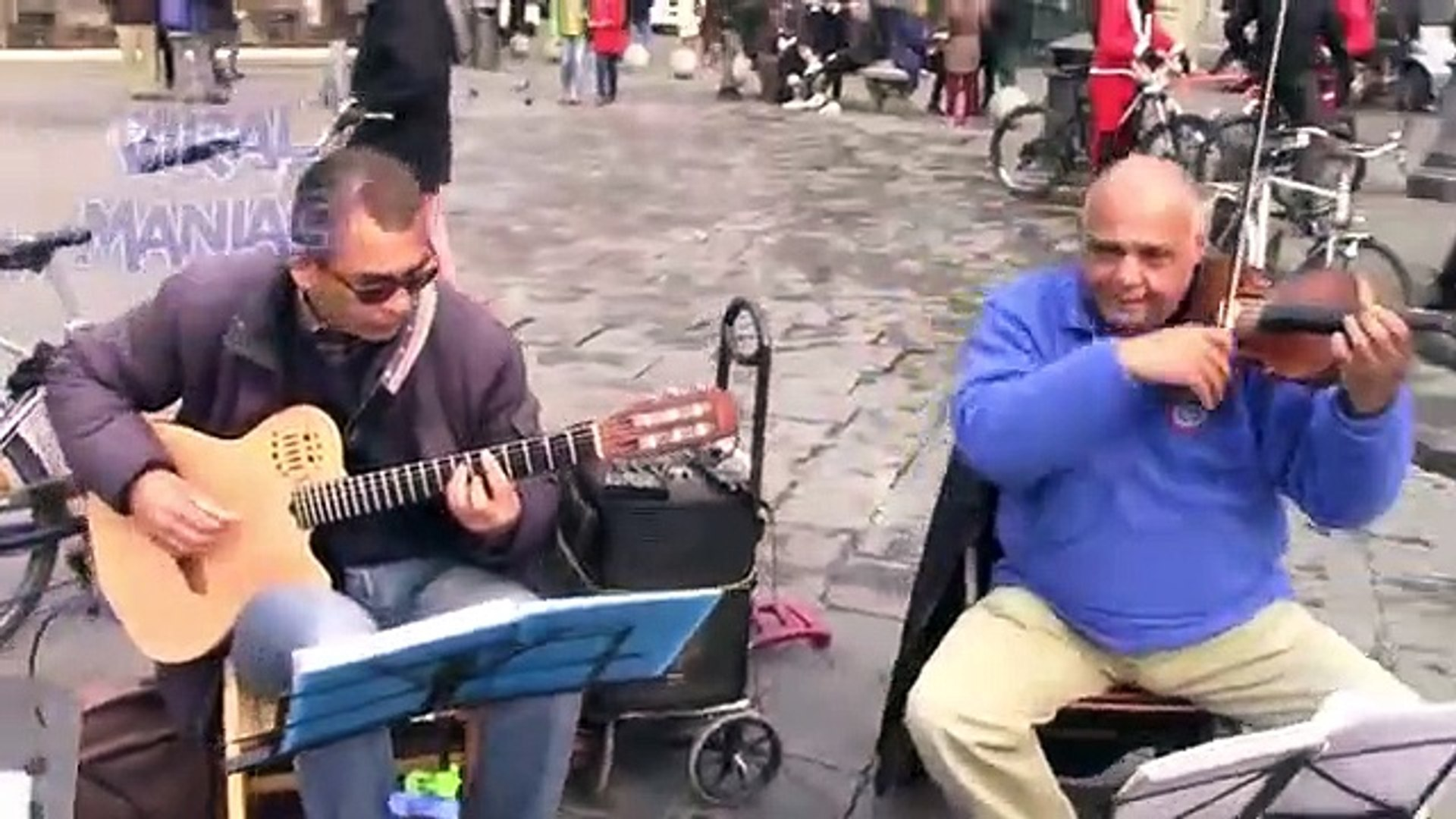 Top 10 TALENTED VIOLIN Street Performer Musicians Videos -- Violin Music