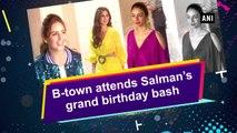 B-town attends Salman's grand birthday bash