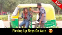 Picking Up Boys On Auto || Rits Dhawan  prank in India 2019,prank ,prank in 2019 ,best girl prank,best prank in public, gold digger prank, gold digger girls, fun, laugh, comedy,prank in india,picking up boys prank,bullet ride,,