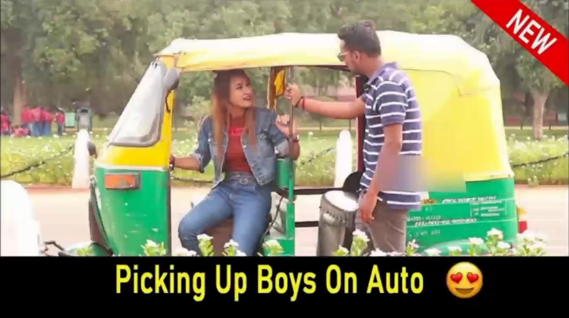 Picking Up Boys On Auto || Rits Dhawan  prank in India 2019,prank ,prank in 2019 ,best girl prank,be