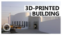 World's largest 3D-printed building completed in Dubai