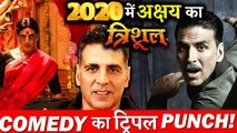 Good News- Akshay Kuamr To Give Comedy's Triple Punch In 2020!