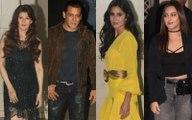 Katrina Kaif, Aditya Roy Kapur, Sonakshi Sinha & the Khandaan at Salman Khan's 54th birthday celebrations