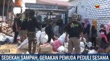 Aksi Pemuda Galang Sedekah Sampah untuk Kaum Dhuafa
