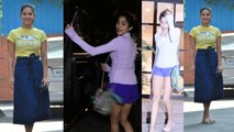Spotted: Janhvi Kapoor at the Gym & Sunny Leone at her kids playschool