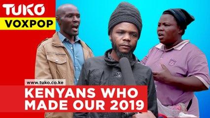 Vox pop: Tuko's popular voices of the year 2019.