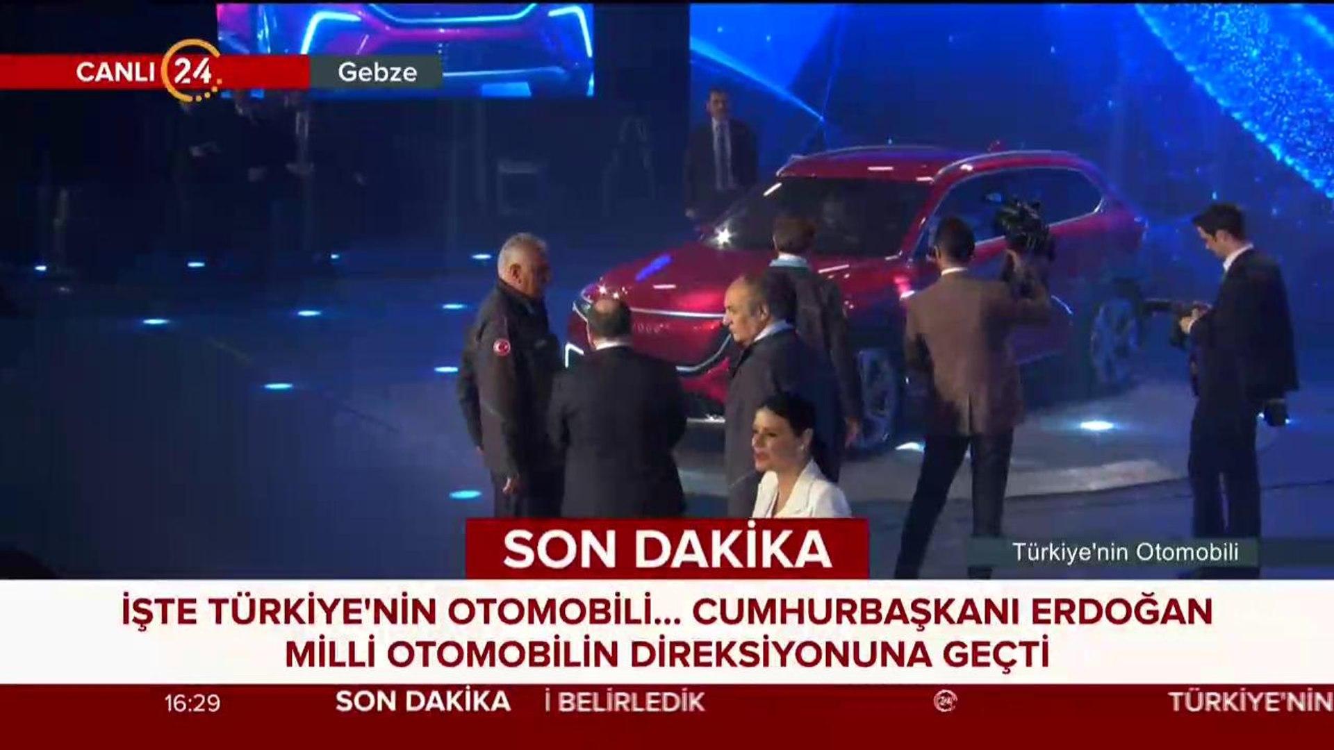 #CANLI Türkiye'nin yerli otomobili görücüye çıktı