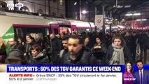 Grève des transports: 60% des TGV fonctionneront ce week-end