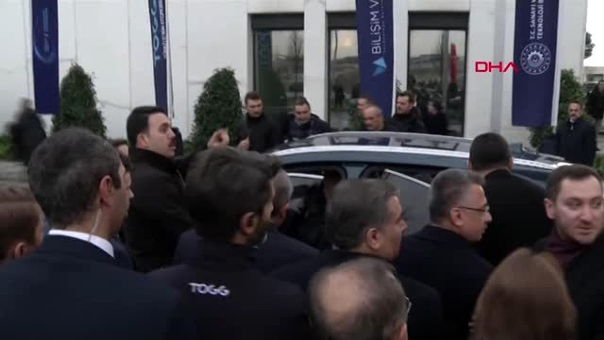 Kocaeli cumhurbaşkanı erdoğan yerli otomobili kullandı-1