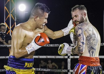 GO SPORTS: International Boxing - Pablo Narvaes vs Calvin Carruthers -  Colchester 15th December 2019