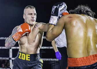 GO SPORTS: International Boxing - Fernando Castenada vs Navid Iran International Masters Light Heavyweight Championship - Colchester 15th December 2019