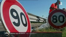 Sécurité routière : un retour aux 90 km/h trop compliqué ?