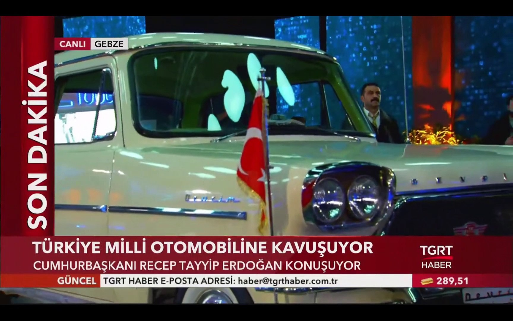 Türkiye Milli Otomobiline Kavuştu - İşte Yerli ve Milli Otomobilden İlk Görüntüler