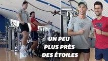 Cristiano Ronaldo livre à Novak Djokovic les secrets de ses sauts légendaires