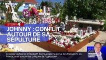 Story 3 : Conflit autour de la sépulture de Johnny Hallyday - 27/12