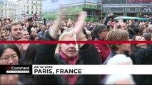 Paris'te Noel grevleri, Berlin'de deniz 'keyfi', Asya'da 'Halka' Güneş tutulması