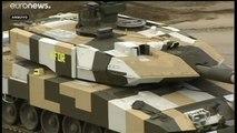 Exportações alemãs de armas sobem para níveis de 2015