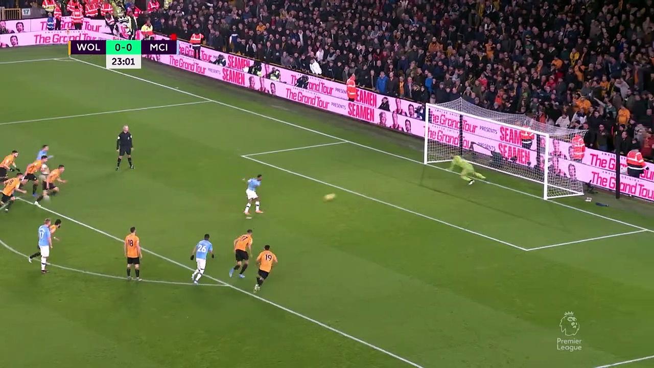 Wolves - Manchester City (3-2) - Maç Özeti - Premier League 2019/20
