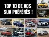 Top 10 des SUV préférés des lecteurs d'Auto Plus