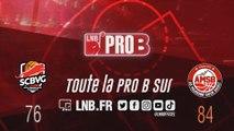 PRO B : Saint-Chamond vs Aix-Maurienne (J13)