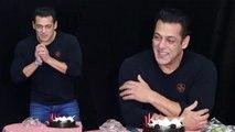 Salman Khan Celebrate His 54th Birthday With Media Reporters in Mumbai