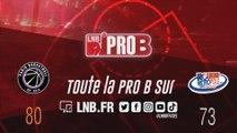 PRO B : Paris vs Rouen (J13)