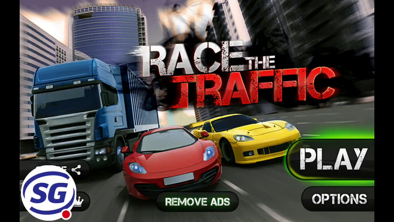 Race the Traffic Stream High Speed Mode Compilation ll Race The Traffic Game Play