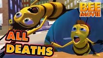 The Bee Movie Game All Deaths  Fail Cutscenes & Game Over (PS2, PC, Wii, X360)