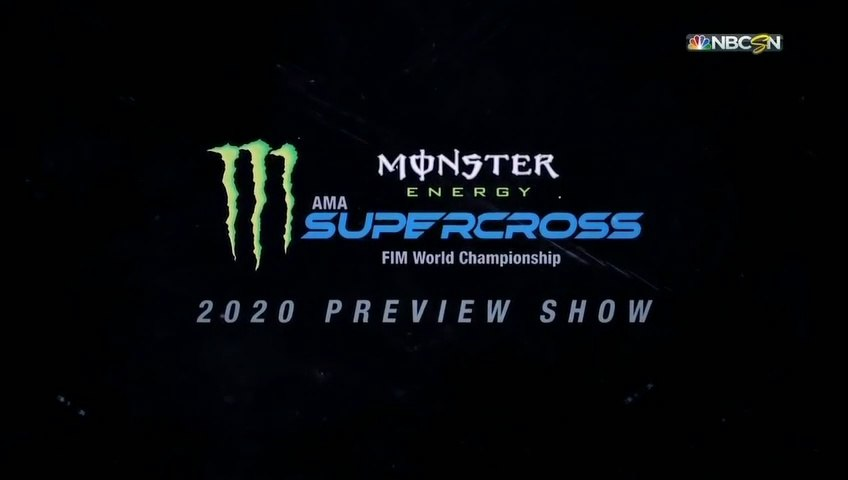 Monster Energy Supercross 2020 Season Preview Show HD