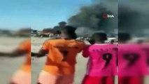 - Türkiye'nin Somali Büyükelçiliğinden yapılan açıklamada, '80'in üzerinde ölü var, 2'si Türk vatandaşı. 100'ün üzerinde de yaralı var. Türkiye'den bir ambulans uçak talep edildi' denildi.