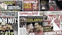 L'Italie salive déjà du duel CR7-Ibrahimovic, l'échec fracassant de City face à Wolverhampton fait grand bruit