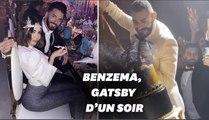 """Karim Benzema se prend pour """"Gatsby le magnifique"""" pour son anniversaire"""