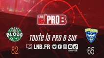 PRO B : Blois vs Saint-Quentin (J13)