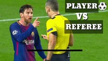 PLAYER VS REFEREE , Top fight, Top fight in football, top football fight, top fight between player and referee, amazing fight, serious fights