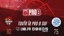 PRO B : Denain vs Evreux (J13)