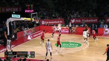 Zalgiris connects from downtown vs. Bayern