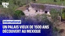 Un palais vieux de 1500 ans découvert au Mexique