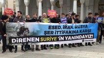 """Başkentte """"İdlib Halkıyla Dayanışma"""" eylemi"""