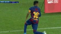 Les buts de Lamine Yamal avec les U12 du Barça