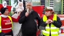 Türk ailenin 4 günlük bebeğini alan Alman Gençlik Dairesi protesto edildi