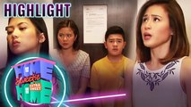 Mikee and Julie get stuck in the elevator | HSH Extra Sweet