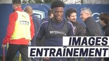 Images de la reprise de l'entraînement des Girondins