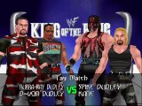 WWF Invasion No Mercy Mod Matches The Dudley Boyz vs Spike Dudley & Kane