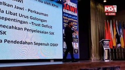 MGTV LIVE : Kongres Jawi Kebangsaan