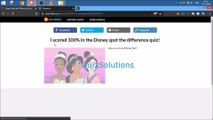 QuizRiddle Disney Spot the Difference Answers 15 Questions Score 100% (1) Video QuizSolutions