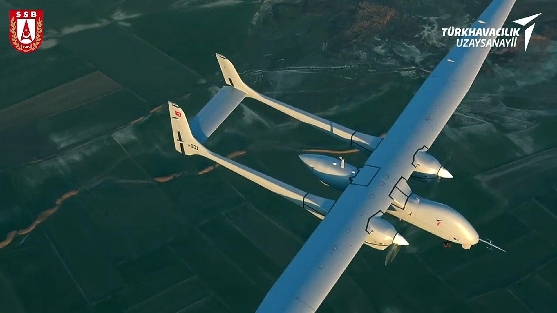 Yerli ve milli yüksek faydalı yük kapasiteli insansız hava aracı Aksungur 2020'de TSK'ya s